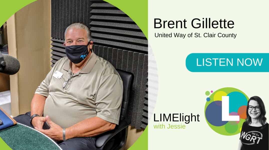 WGRT LIMElight wsg. Brent Gillette United Way of St. Clair County