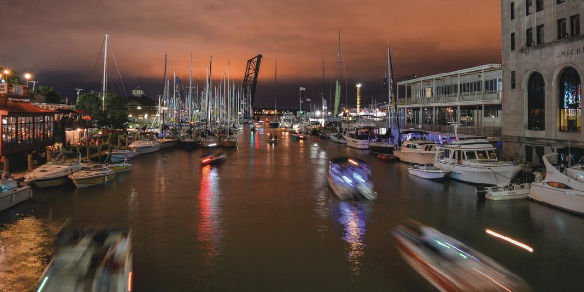 Photo by Abby Harvey Boat Night Port Huron Photo