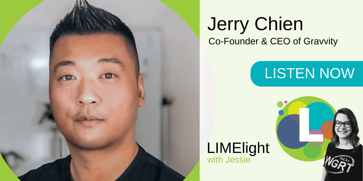 LIMElight wsg. Jerry Chien CEO Gravvity