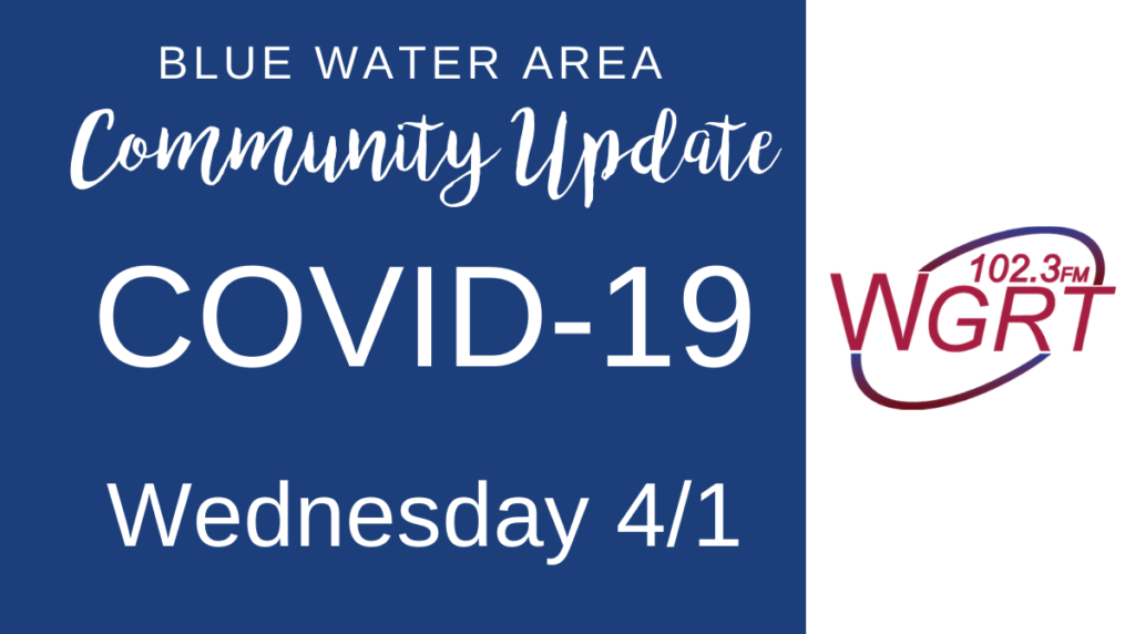 Blue Water Area Community COVID-19 Update