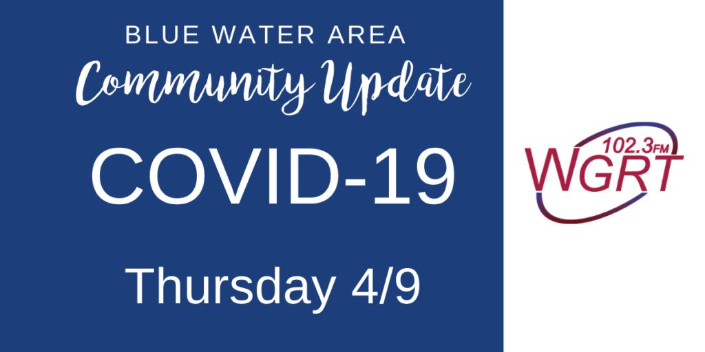 COVID-19 Community Update Thursday 4_9_2020
