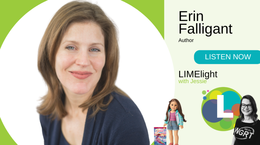 LIMElight Erin Falligant Author Joss Series by American Girl