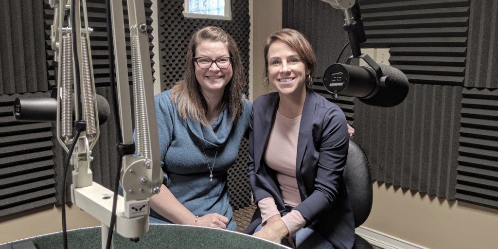 Jessie Wiegand and Theresa Winters in the studio at WGRT for this week's edition of Locals in the Limelight