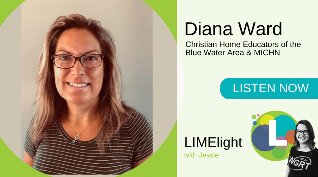 LIMElight wsg Diana Ward Christian Home Educators of the Blue Water Area and MICHN