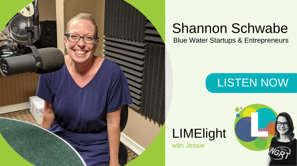 LIMElight wsg. Shannon Schwabe Blue Water Startups Entrepreneurs