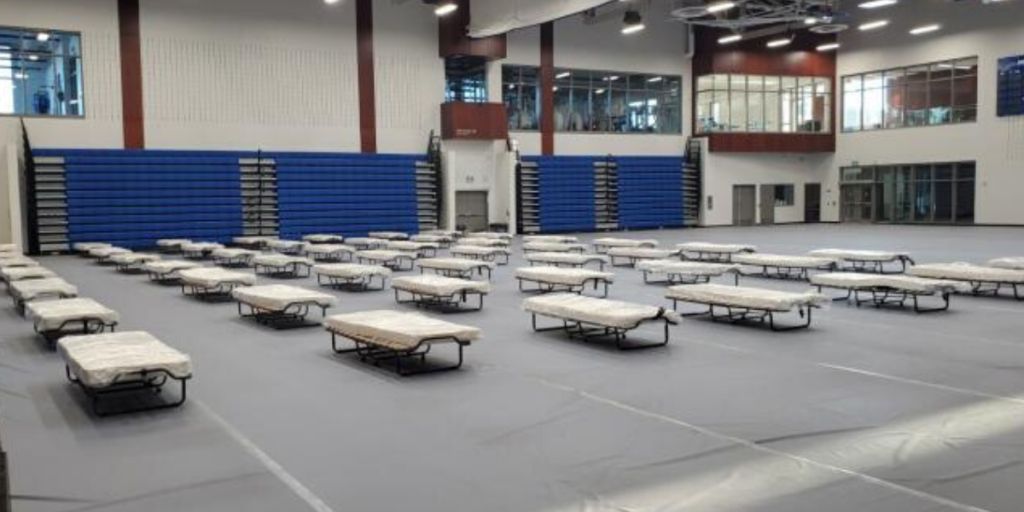 Lambton College Gyms Transition to Field Hospital for Bluewater Health