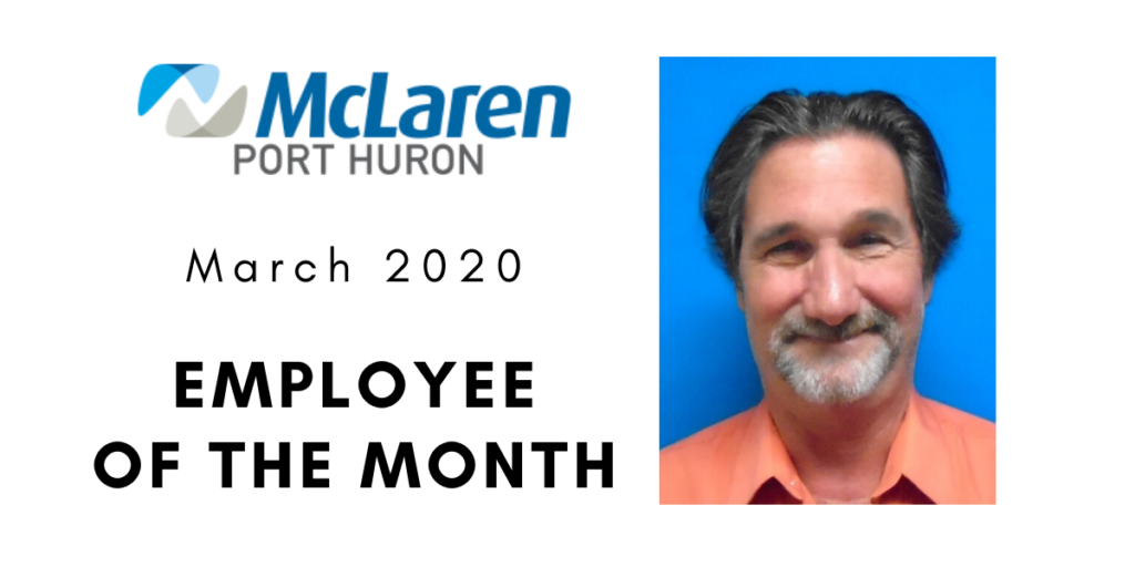 Ron Akred McLaren Port Huron Employee of the month