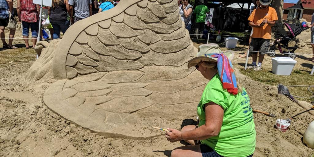Blue Water SandFest 2019 Photo: Jessie Wiegand