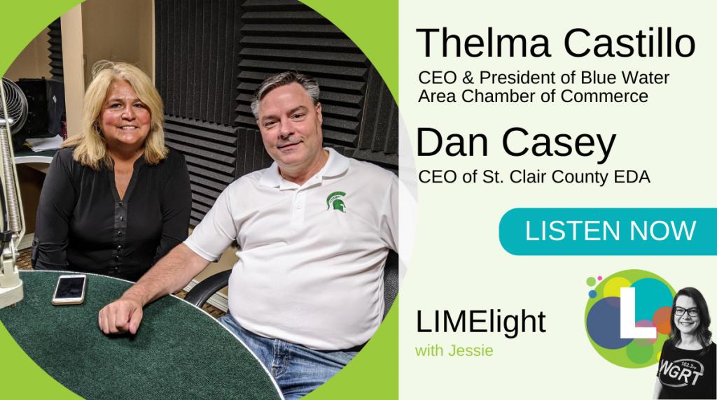 Thelma Castillo and Dan Casey LIMELight